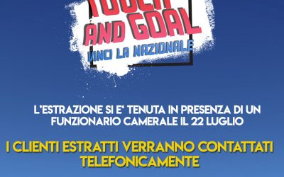 Grande concorso Touch & Goal